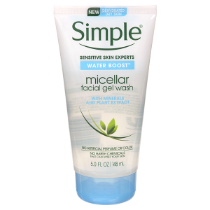 SỮA RỬA MẶT SIMPLE WATER BOOST MICELLAR FACIAL GEL WASH