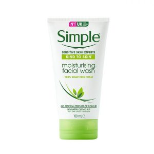 Sữa Rửa Mặt Simple Kind to Skin Moisturising Facial Wash (Da Khô)