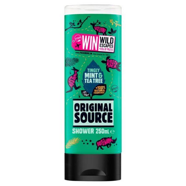 Sữa Tắm Original Source Tropical Tingly Mint and Tea Tree 250 Ml