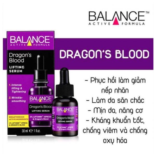 Tinh chất Balance Active Formula Máu Rồng Dragon's Blood Lifting Serum 30ml
