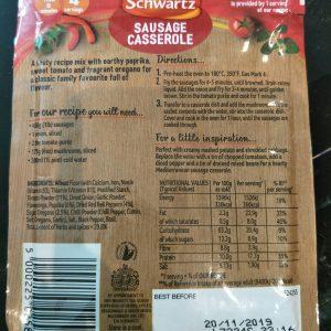 Schwartz Sausage Casserole