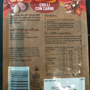 Schwartz Chilli Con Carne