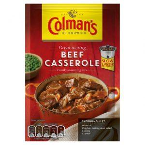Colman's Beef Stroganoff