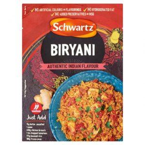 Schwartz Biryani