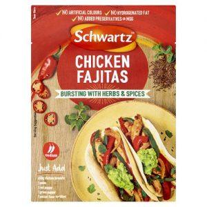 Schwartz Chicken Fajitas