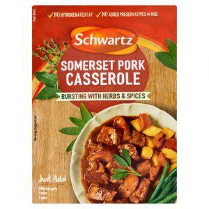 Schwartz Somerset Pork Casserole