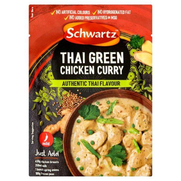Schwartz Thai Green Chicken Curry