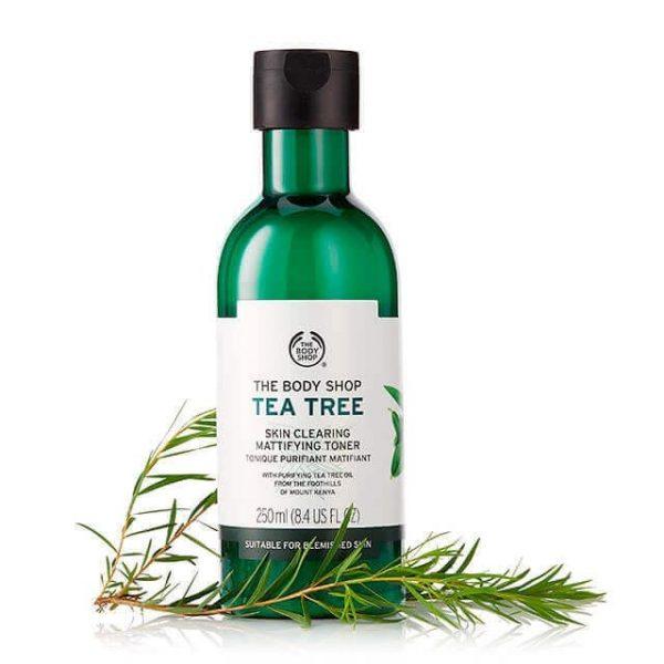 Nước cân bằng da trị mụn The Body Shop Tea Tree Skin Clearing Mattifying Toner 250ml