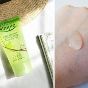 Sữa Rửa Mặt Cho Da Nhạy Cảm Simple Refreshing Facial Wash Gel
