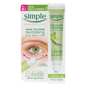 Simple Kind To Eyes Revitalising Eye Roll On