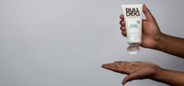 Sữa Rửa Mặt Cho Nam Da Nhạy Cảm Bulldog Sensitive Face Wash 150 Ml