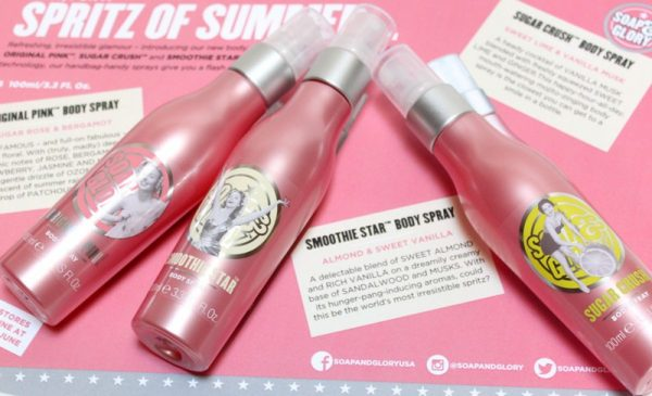 Body Mist Soap and Glory Original Pink