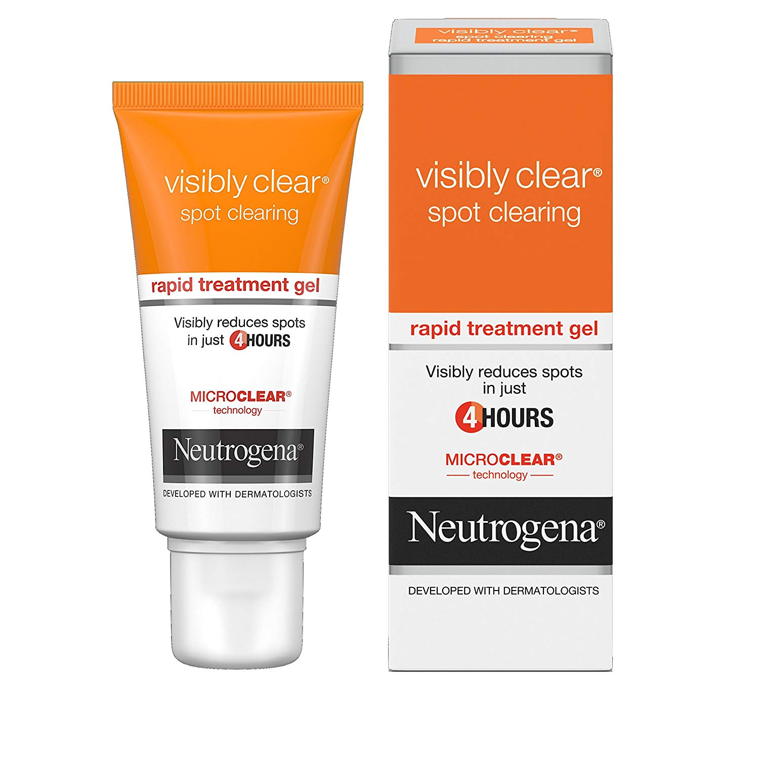 Gel Trị Mụn Neutrogena Visibly Clear Spot Clearing Rapid Treatment Gel 15ml