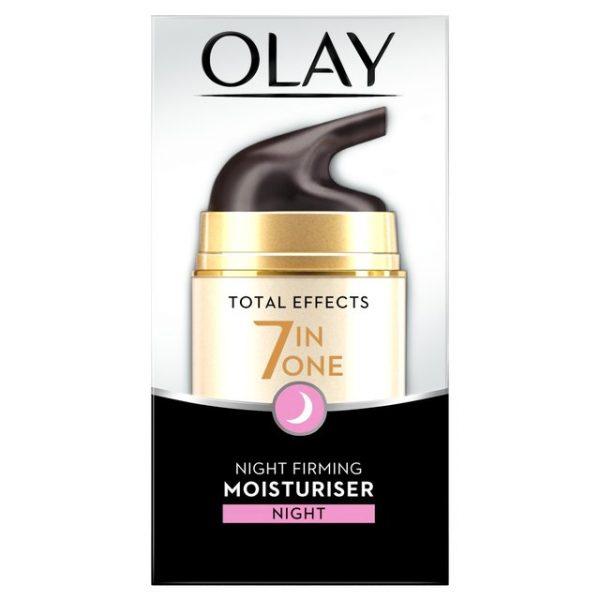 Kem Dưỡng Ban Đêm Olay Total Effects 7in1 Anti-ageing Night Cream Moisturiser 50 ml