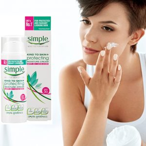Kem Dưỡng Chống Nắng Simple Kind to Skin Protecting Moisture Cream Spf30 50ml