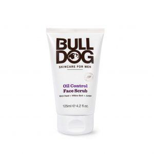 Tẩy Da Chết Bulldog Oil Control Face Scrub Cho Nam Da Dầu 125ml