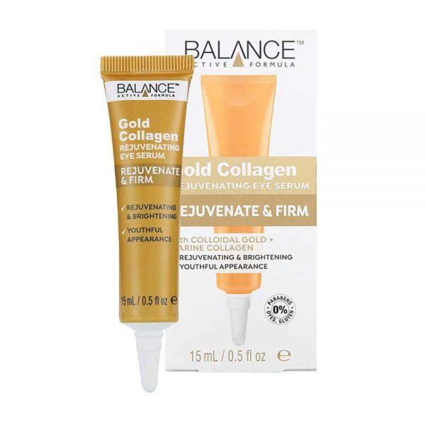 Kem Dưỡng Da Vùng Mắt Ngừa Lão Hóa Balance Gold Collagen Rejuvenating Eye Serum 15ml