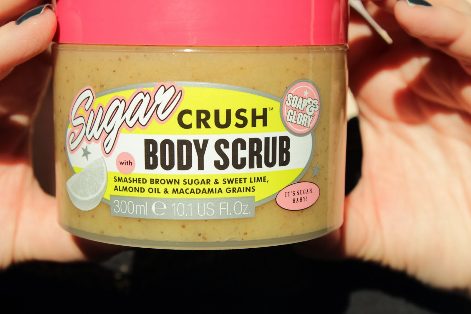 Tẩy Da Chết toàn Thân Soap and Glory Sugar Crush Body Scrub 300ml