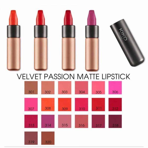 Son Kiko Velvet Passion Matte 304