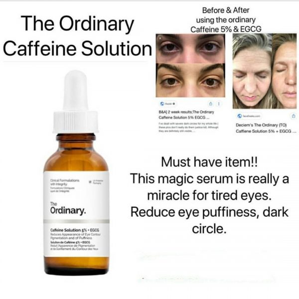 The Ordinary Caffenie Solution 5% + Egcg 30ml