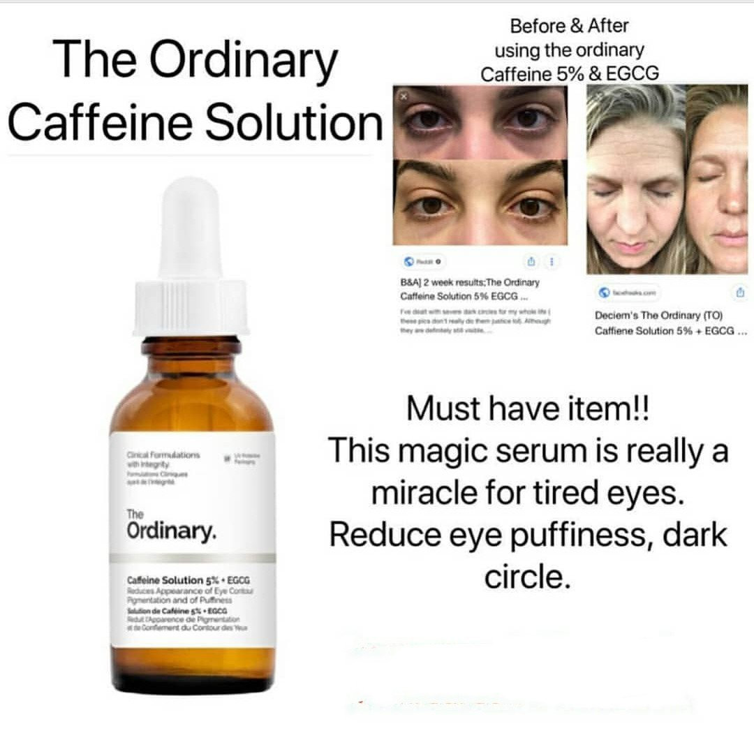 Caffenie Solution 5% + Egcg 30ml