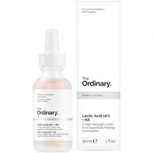 Tẩy Da Chết Hóa Học the Ordinary Lactic Acid 10% + Ha 2% 30ml