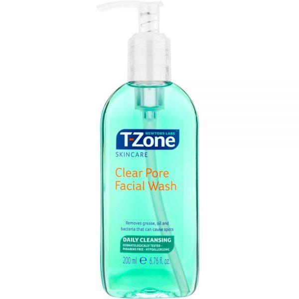 T-zone Clear Pore Facial Wash