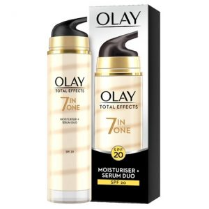 Olay Total Effects 7-in-1 Anti-ageing Moisturiser + Serum Duo