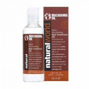 Natural World Macadamia Oil Hair Treatment Oil