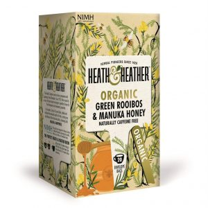 Heath & Heather Organic Green Rooibos With Manuka Honey