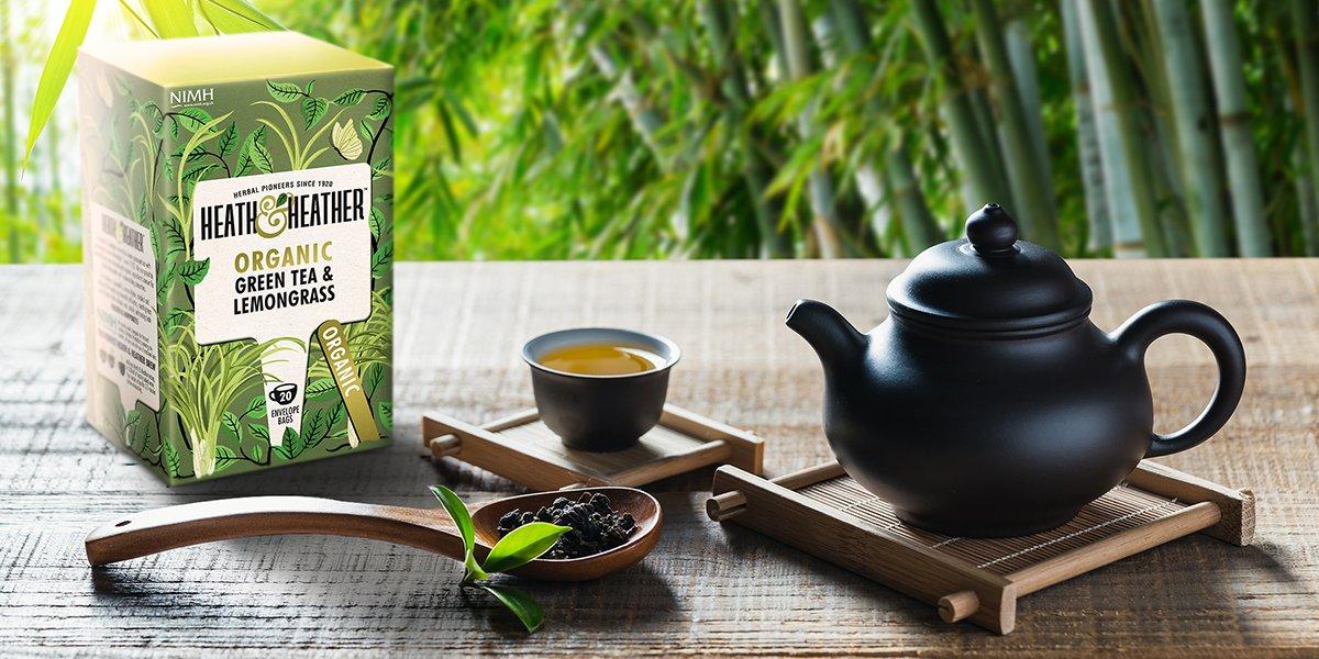 Heath & Heather Green Tea & Lemongrass