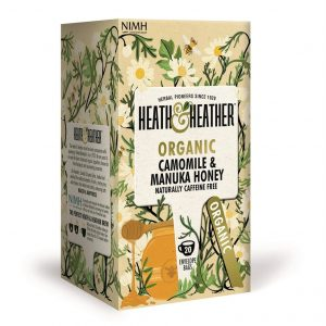 Heath & Heather Organic Camomile With Manuka