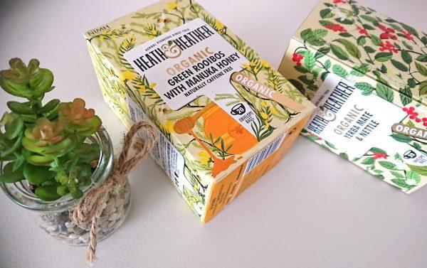 Heath & Heather Organic Green Rooibos With Manuka Honey