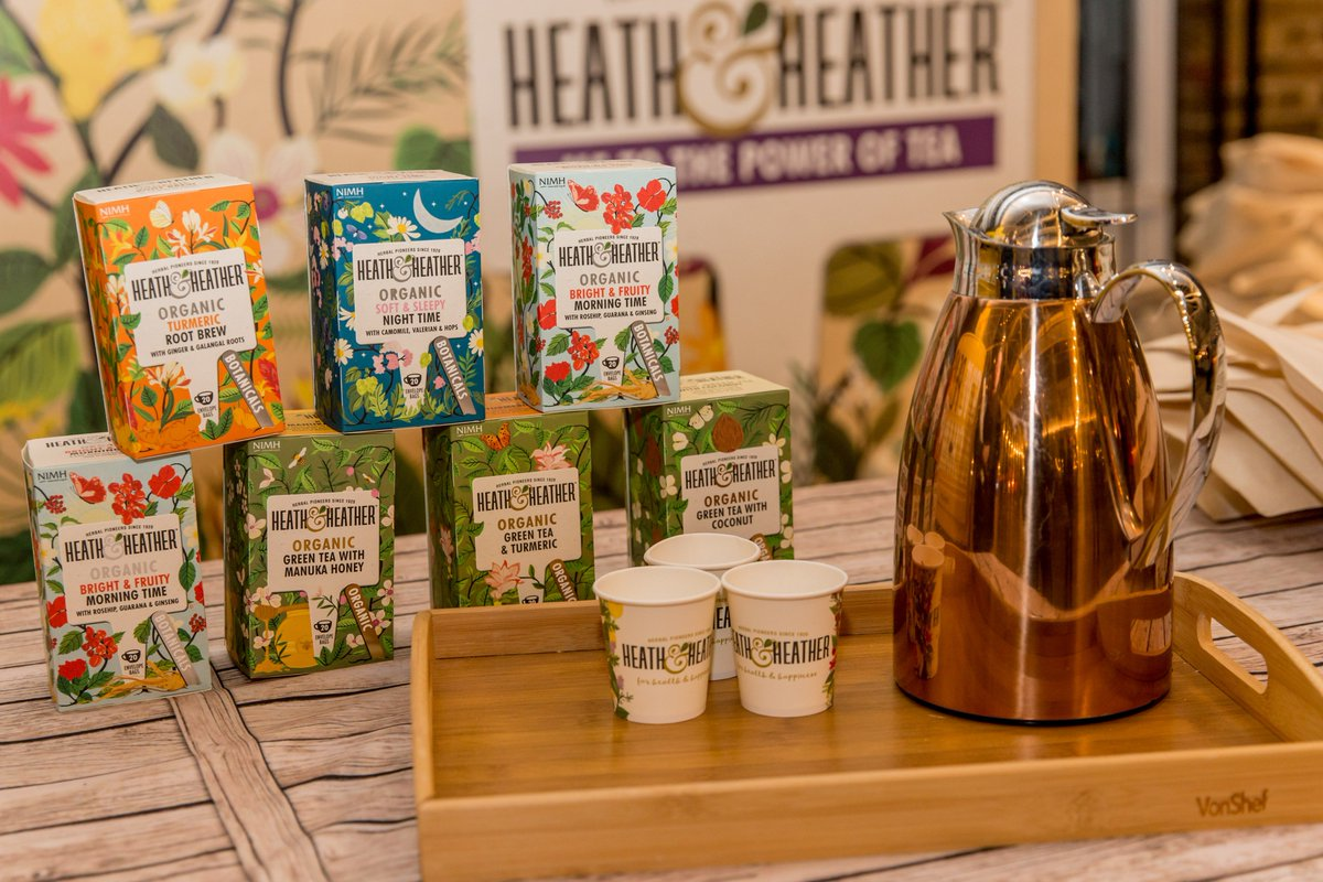 Heath & Heather Organic Green Tea