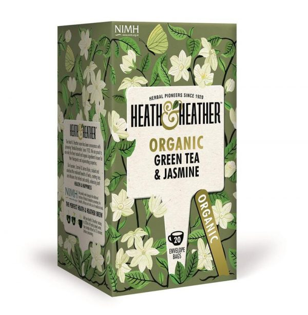 Heath & Heather Organic Green Tea & Jasmine