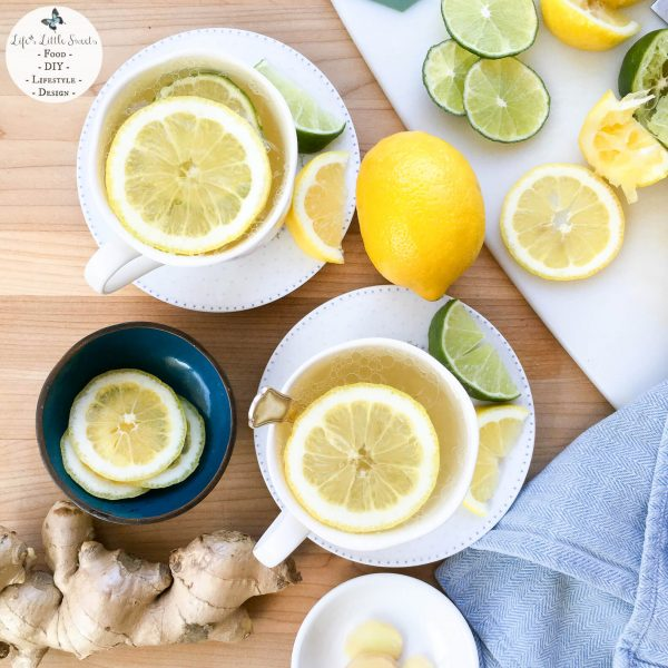 Heath & Heather Organic Lemon & Ginger 1