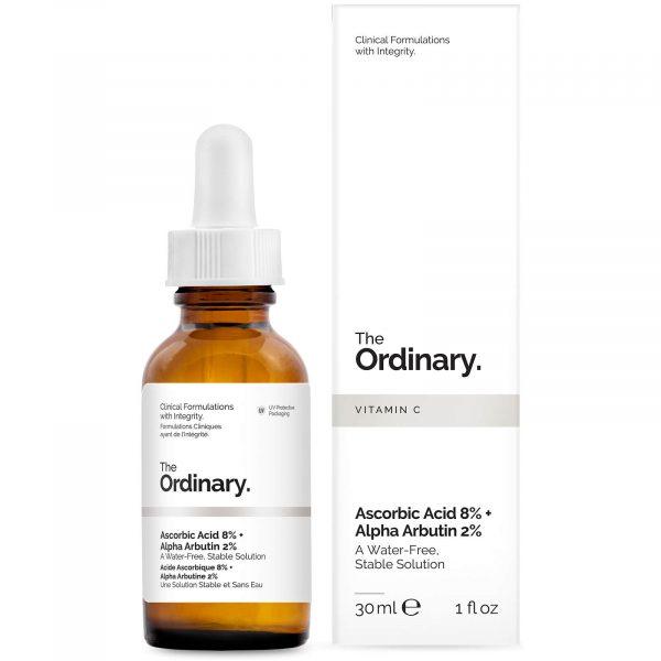 he Ordinary Ascorbic Acid 8%+Alpha Arbutin 2%