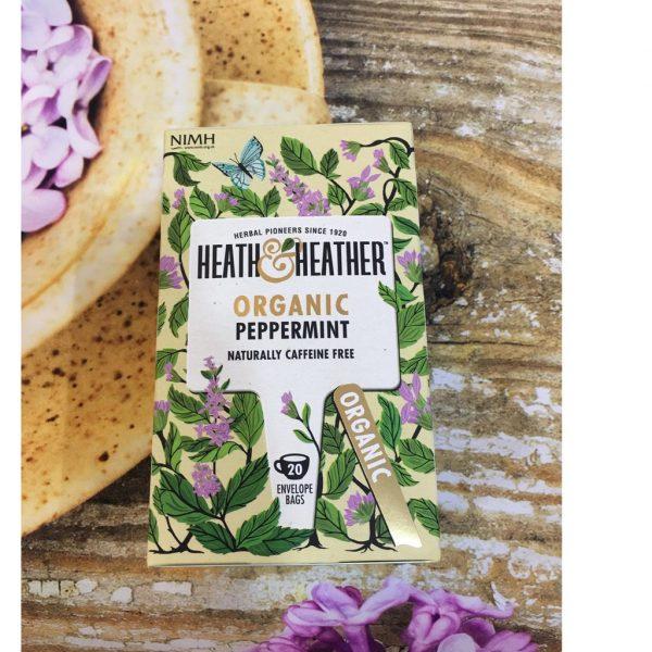 Trà Bạc Hà Hữu Cơ Heath & Heather Organic Peppermint