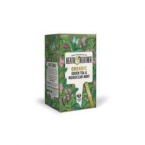 Heath & Heather Organic Green Tea & Moroccan