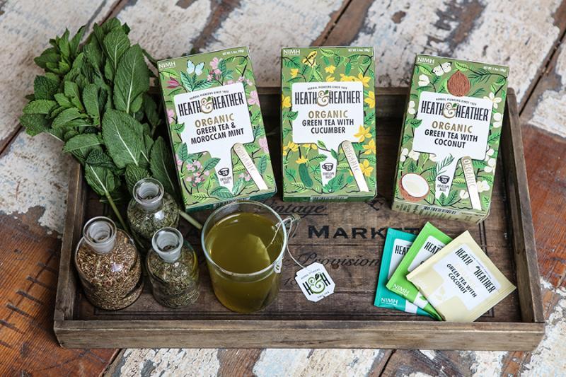 Trà Bạc Hà Maroc Hữu Cơ Heath & Heather Organic Green Tea & Moroccan