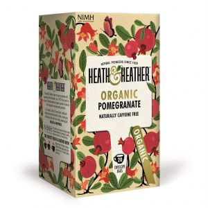 Trà Lựu Hữu Cơ Heath & Heather Organic Pomegranate