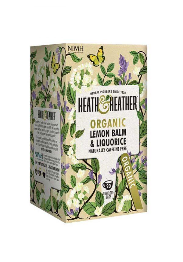 Heath & Heather Organic Lemon Balm & Liquorice