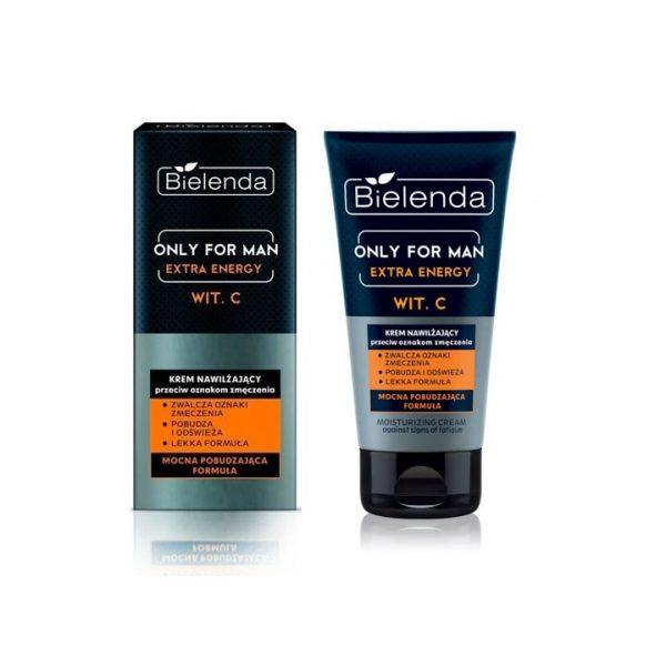 Bielenda Only for Men Extra Energy Moisturizing Cream 50 Ml