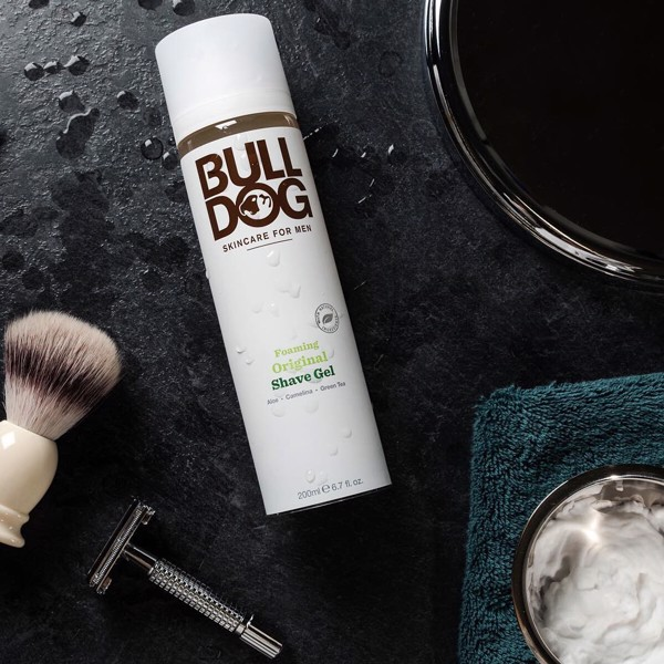 Gel cạo râu Bulldog Foaming Original Shave Gel