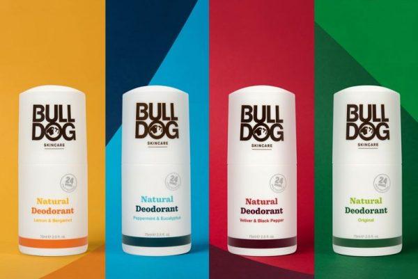 Bulldog Vetiver & Black Pepper Natural Deodorant