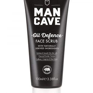 Mancave Oil Defence Face Scrub 100ml