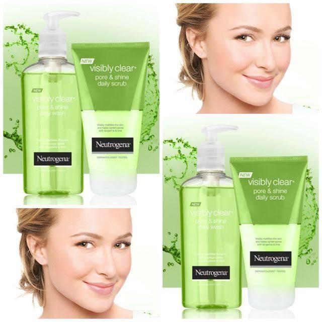 Neutrogena Visibly Clear Pore & Shine Daily Wash