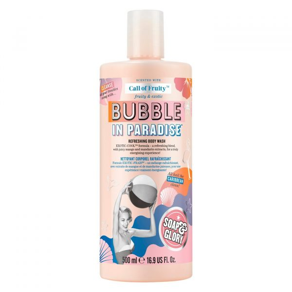 Soap & Glory Call of Fruity Bubble in Paradise Refreshing Shower Ge