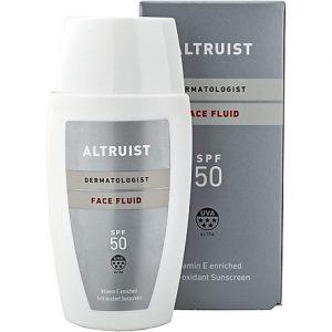 Altruist Dermatologist Sunscreen Face Fluid Spf50 50ml