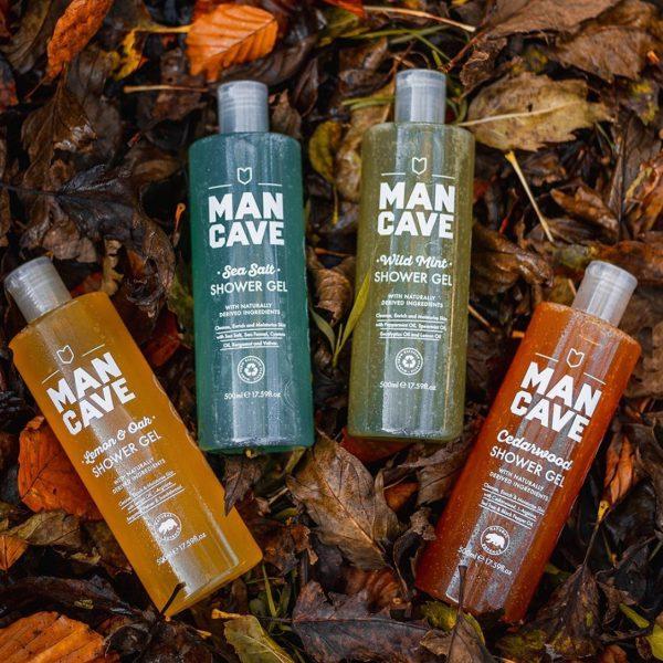 Mancave Sea Salt Shower Gel